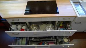 Fernwood kitchen storage ikan installations
