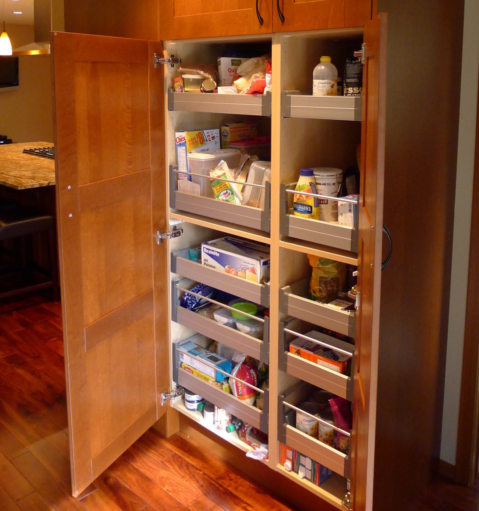 Kitchen tips utilizing pull out wall cabinets ikan installations