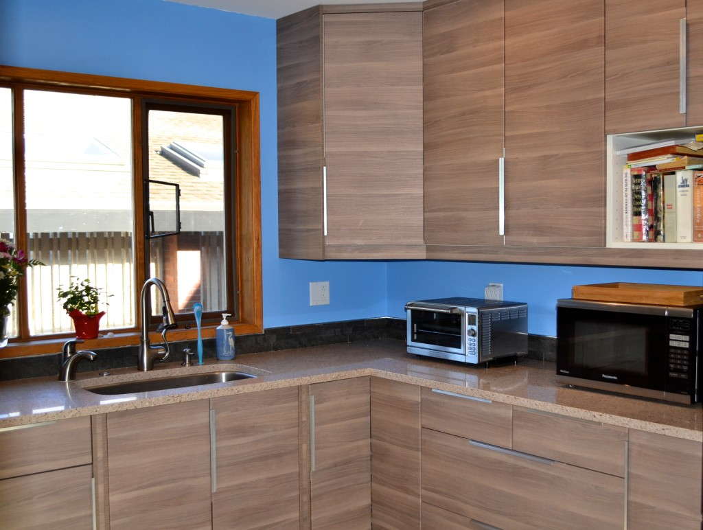 Recent Project Kitchen By The Sea Walnut Ikea Cabinets