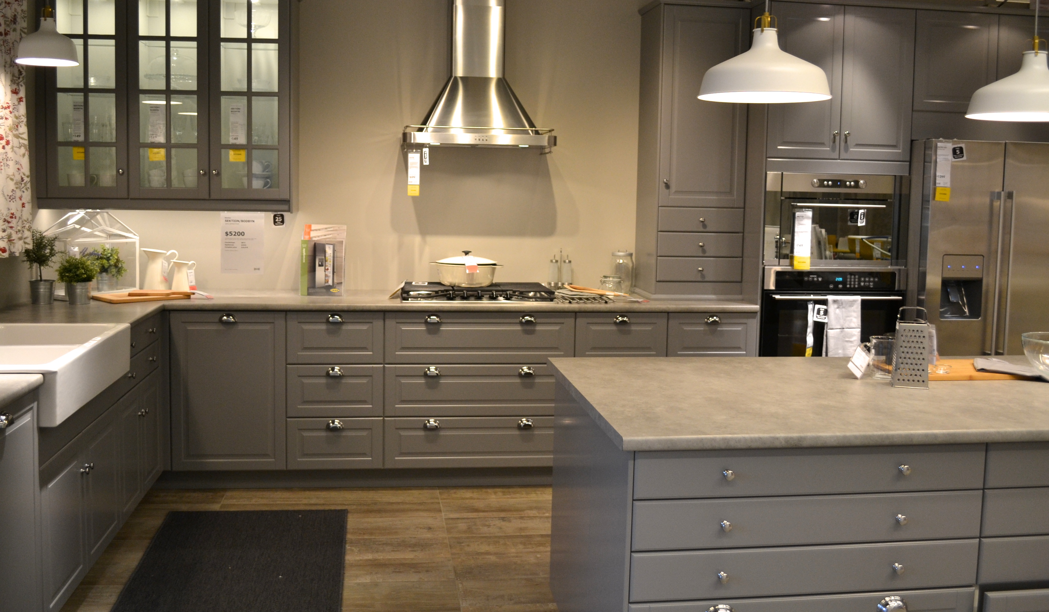Kitchen Cabinets Ikea Grey