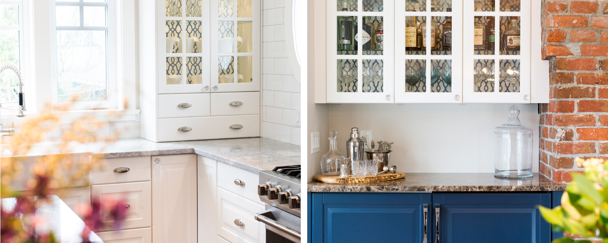 Transitional kitchen cabinet style | IKAN | Victoria, BC
