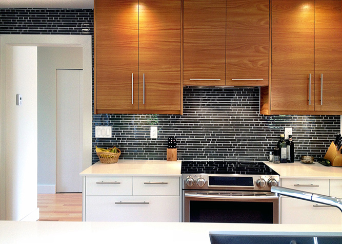A White Ikea Kitchen Goes For A Touch Of Shine: IKEA Inspiration